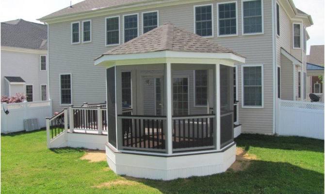 Deck Screened Porch Build Decks Wood Porches Find Pergola Ideas