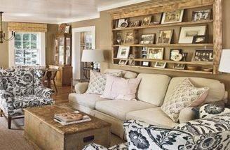 Decoration Cottage Style Living Room Sofa Design
