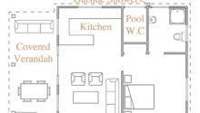Deluxe Pool House Iii Floor Plan Home Design Ideas