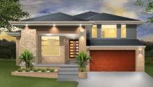 Denman Split Level Sloping Block Marksman Homes Illawarra