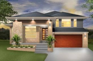 Denman Split Level Sloping Block Marksman Homes Illawarra