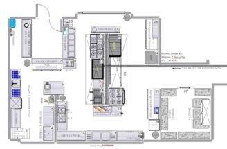 Design Bookmark Blueprints Restaurant Kitchen Designs