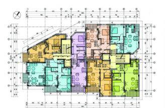 Design Furthermore Apartment Floor Plan Also Architectural Plans