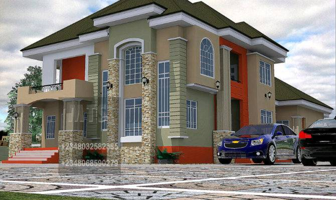 Designs Duplex House Nigeria Like Architectural