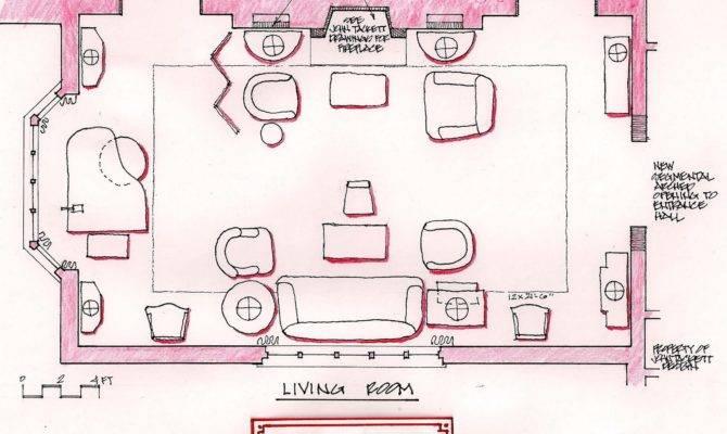 Devoted Classicist Living Room Floor Plan Sitting
