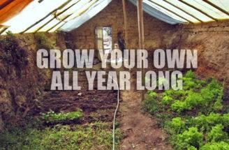 Diy Build Ground Greenhouse Manual