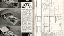 Doll House Building Plans Floor