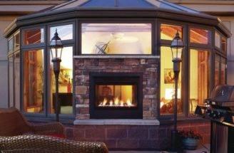 Double Fireplace Ideas Sided Warm