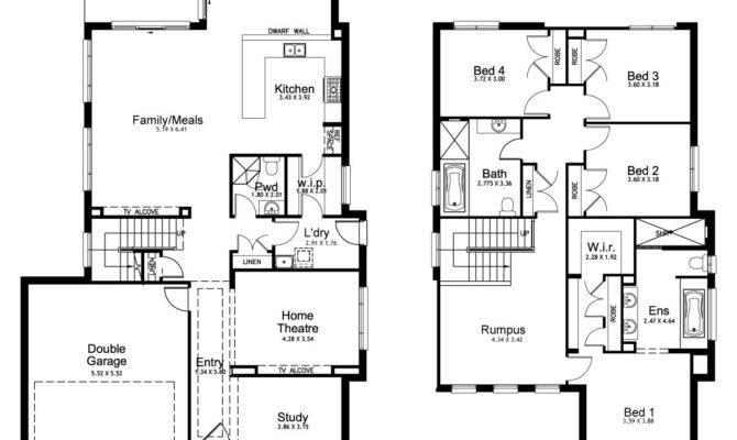 19 Unique Double Story House Plan - Home Plans & Blueprints | 7128