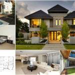 Double Story House Plan Chinese Inspiration Architecture