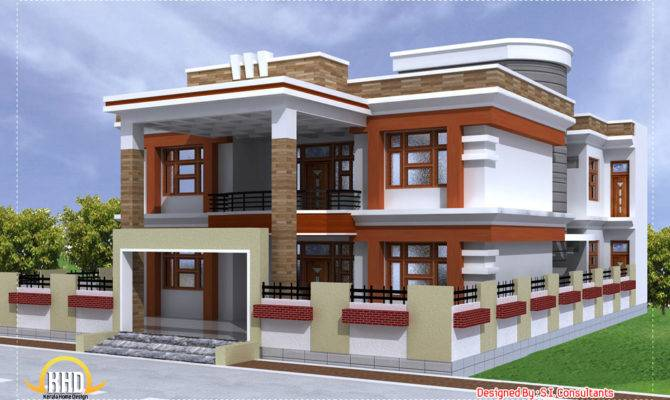 Double Story House Plan Kerala Home Design Floor Plans