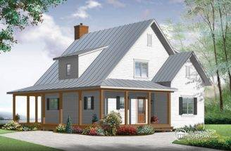 Drummond House Plans Farmhouse Plan