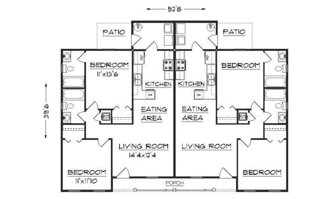 Duplex Home Plans Find House