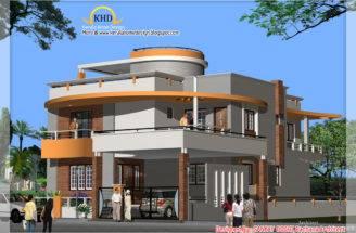 Duplex House Plan Elevation Indian Home Decor