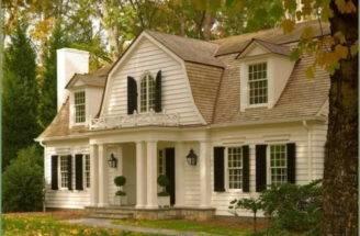 Dutch Colonial Homes Front Door