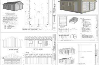 Dwg Garage Plans Pdf Leave Comment