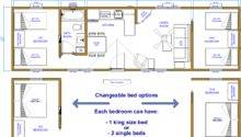 Ecabinplans Cabin Plans Bedroom Duplex