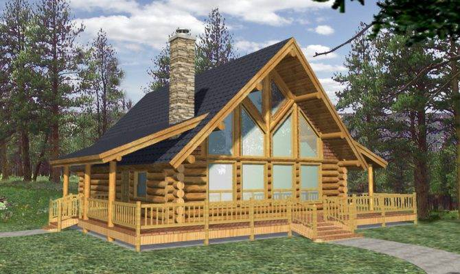 Efficientr Style Log Home Design Coast Mountain Homes