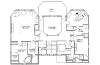 Elegant Floor Plans Beach House