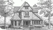English Cottage House Plan Square Feet Bedrooms