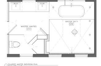 Entire Bathroom White Except Toilet Area Which