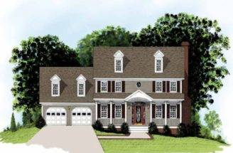 Eplans Adam Federal House Plan Simple Beauty Accentuated