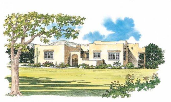 Eplans Adobe House Plan Suite Santa Square Feet