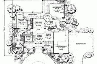 Eplans Antebellum House Plan Four Bedroom Square