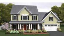 Eplans Colonial House Plan Bonus Square Feet