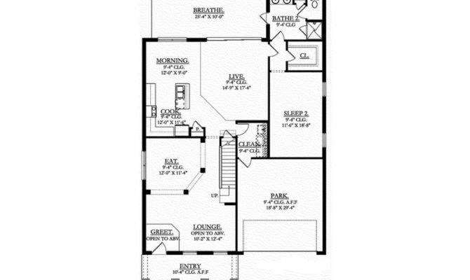 Eplans Colonial House Plan Dual Master Suites