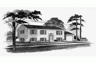 Eplans Colonial House Plan Efficient Level Square Feet