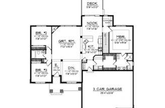 Eplans Comeplans Ranch House Plan