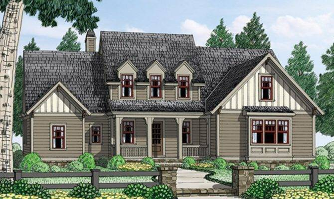 Eplans Cottage House Plan Captivating Square Feet