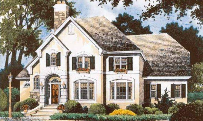 Eplans Cottage House Plan Old World Style Meets Southern Charm