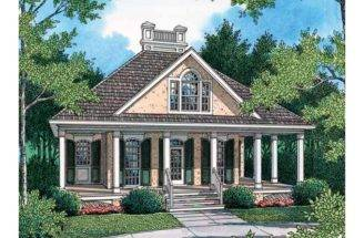Eplans Cottage House Plan Welcoming Guest Square Feet