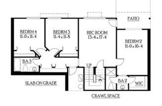 Eplans Craftsman House Plan Classic Rambler Perfect