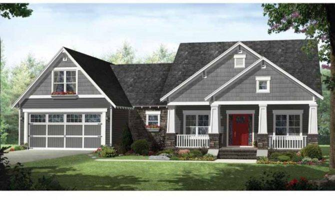 Eplans Craftsman House Plan Open Layout Flex Space