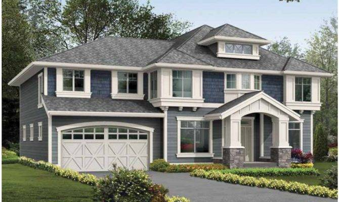 Eplans Craftsman House Plan Walkout Basement Ready Media Rec