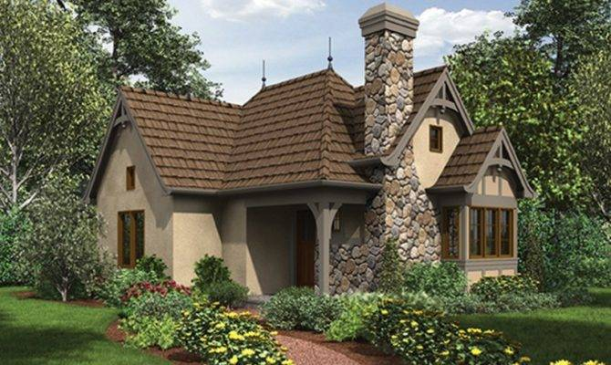 Eplans English Cottage House Plan Enchanting Guest