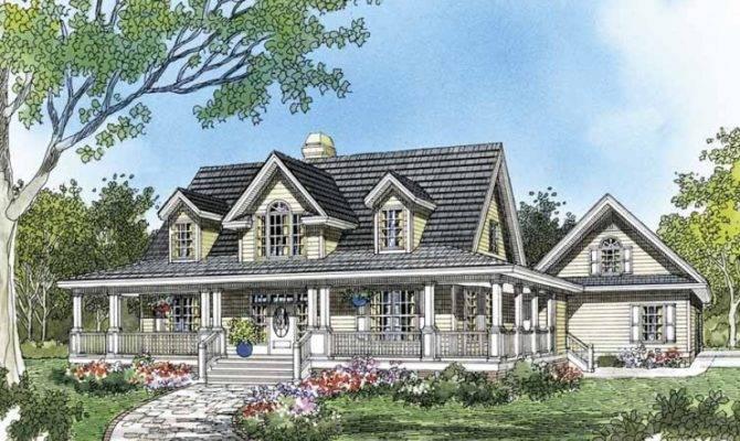 Eplans Farmhouse House Plan Azalea Crossing Square Feet