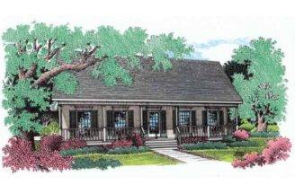 Eplans Farmhouse House Plan Elegant Columns Square Feet