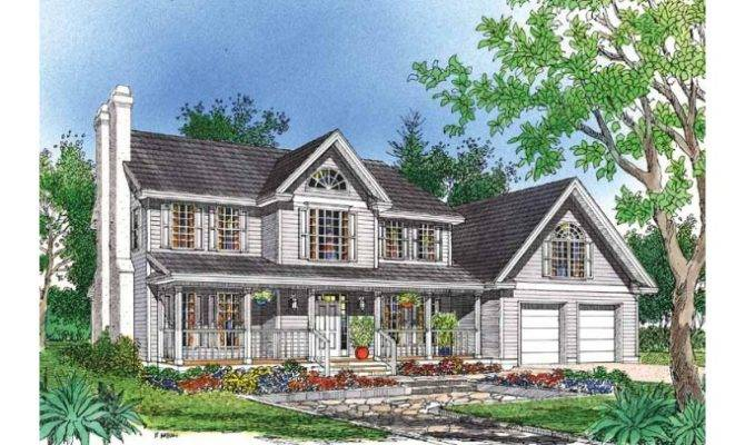Eplans Farmhouse House Plan Two Story Country Home Square