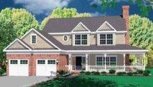 Eplans Farmhouse House Plan Wide Covered Porch Welcomes