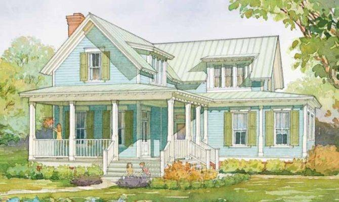 Eplans Farmhouse House Plan Wildmere Cottage Southern