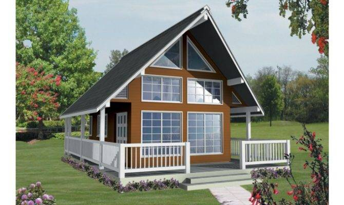 Eplans Frame House Plan Vacation Views Square Feet