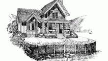 Eplans Gothic Revival House Plan Sweet Lakeside Cottage