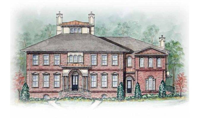 Eplans Italianate House Plan Two Master Suites Square Feet