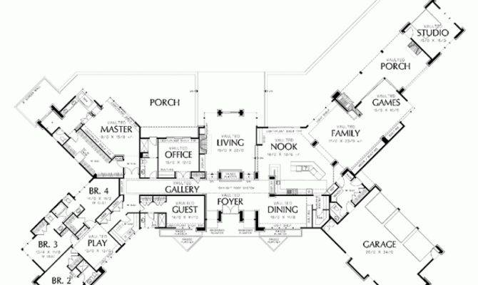 Eplans Prairie House Plan Marks Spot Square Feet