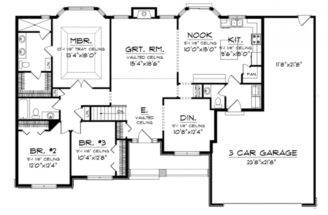 Eplans Ranch House Plan Beautiful Master Suite Bay Window