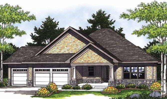 Eplans Ranch House Plan Curb Appeal Comfort Square Feet
